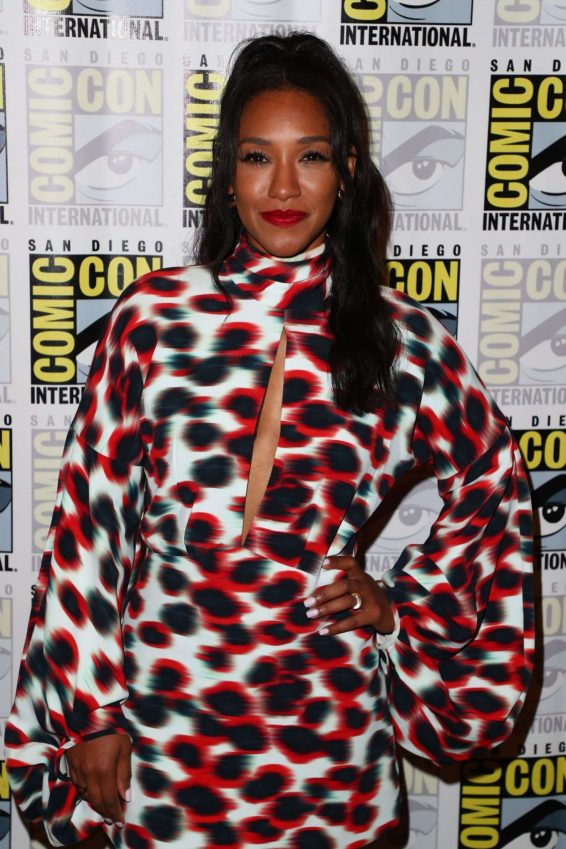 Candice Patton - 'The Flash' Press Line at Comic Con San Diego 2019