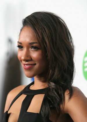 Candice Patton: Warner Music Group Grammy After Party -03