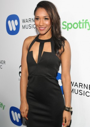 Candice Patton: Warner Music Group Grammy After Party -04