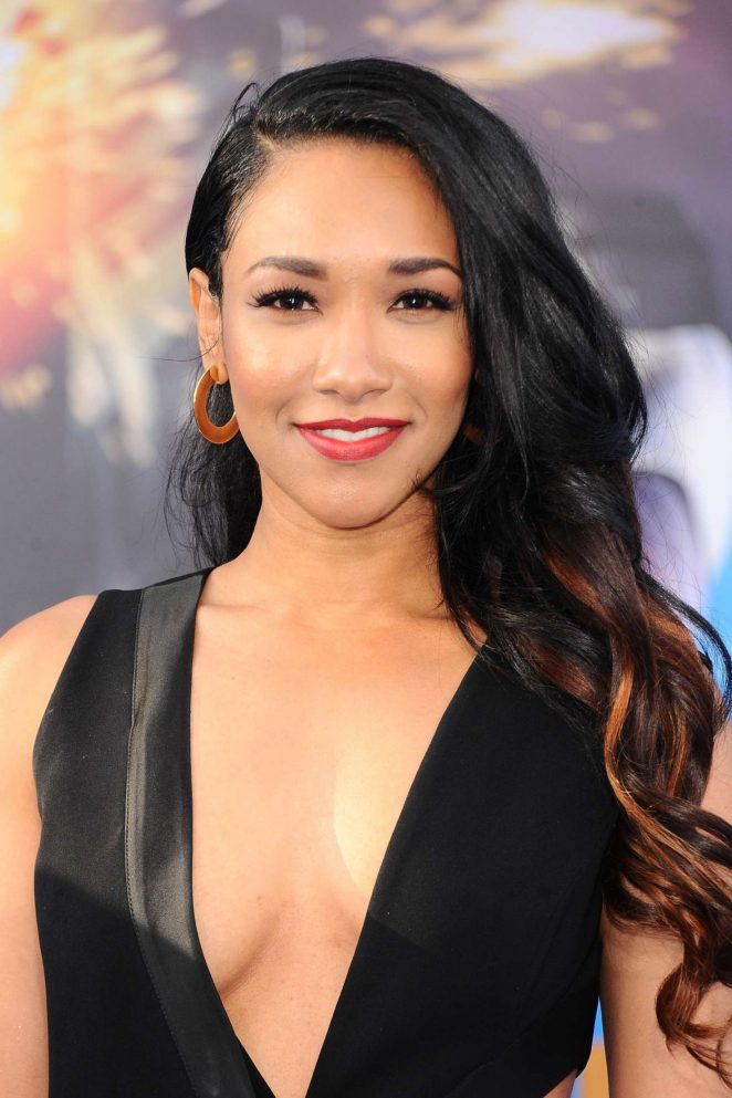 Candice Patton - 'Wonder Woman' Premiere in Los Angeles