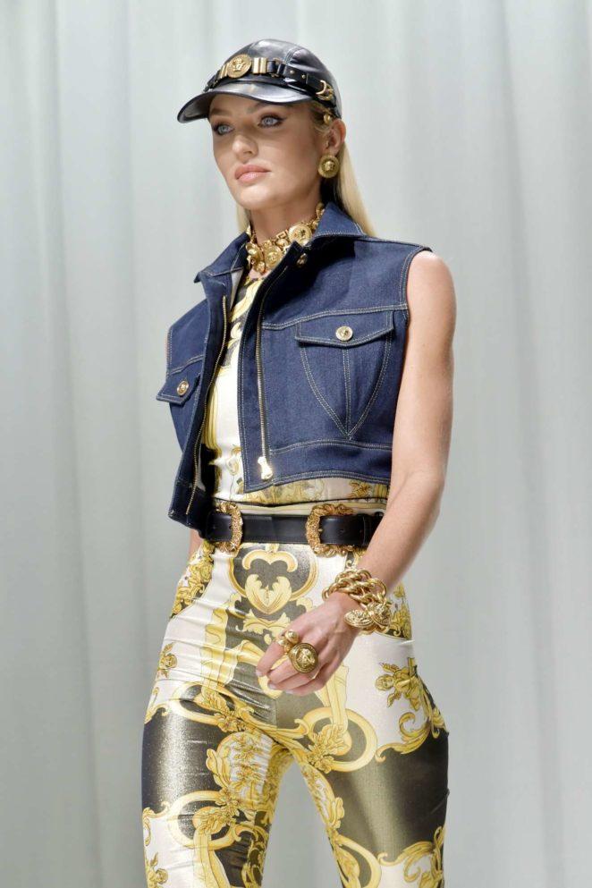 Candice Swanepoel: 2017 Versace show at Milan Fashion Week-07