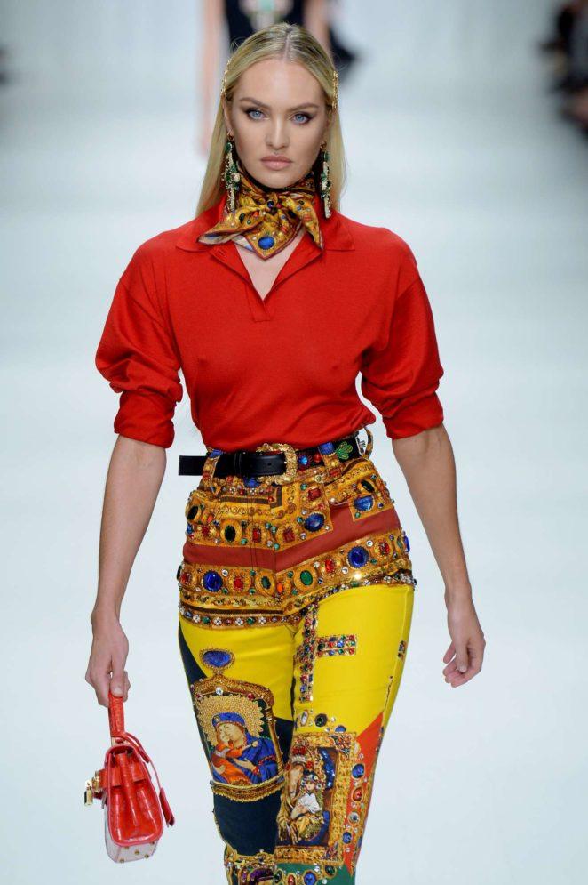 Candice Swanepoel: 2017 Versace show at Milan Fashion Week-08