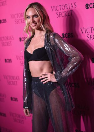Candice Swanepoel - 2017 Victoria's Secret Viewing Party in New York City
