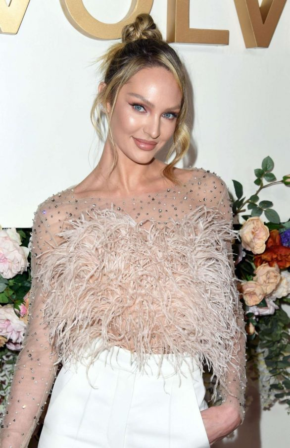 Candice Swanepoel - 2019 REVOLVE awards in West Hollywood