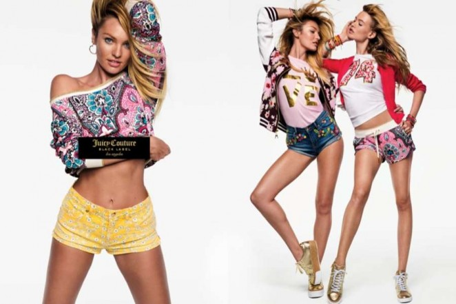Candice Swanepoel and Behati Prinsloo - Juicy Couture Campaign SS 2016