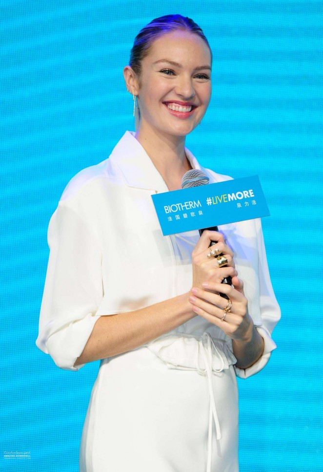 Candice Swanepoel - Biotherm Event in Shanghai