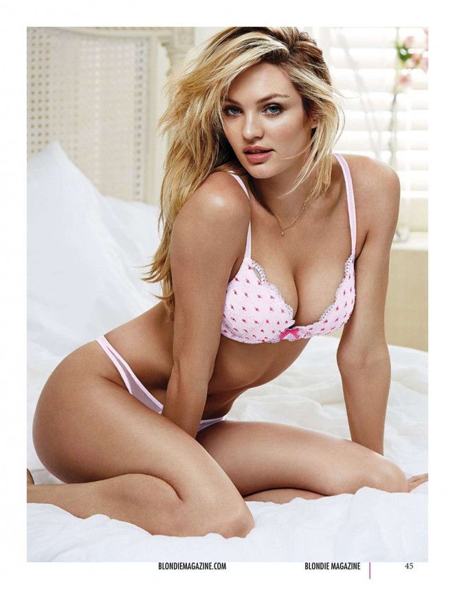 Candice Swanepoel - Blondie Magazine (January 2015)