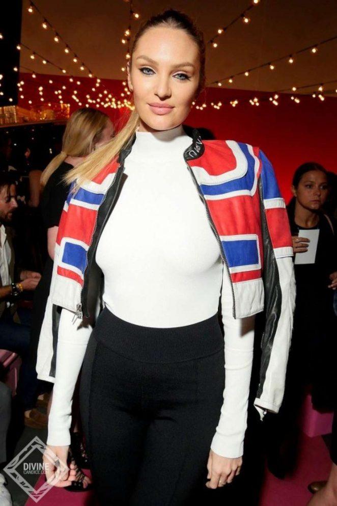 Candice Swanepoel - Brandon Maxwell Fashion Show in NYC