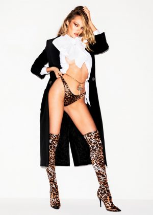 Candice Swanepoel by Carin Backoff for GLAMORAMA (November 2018)