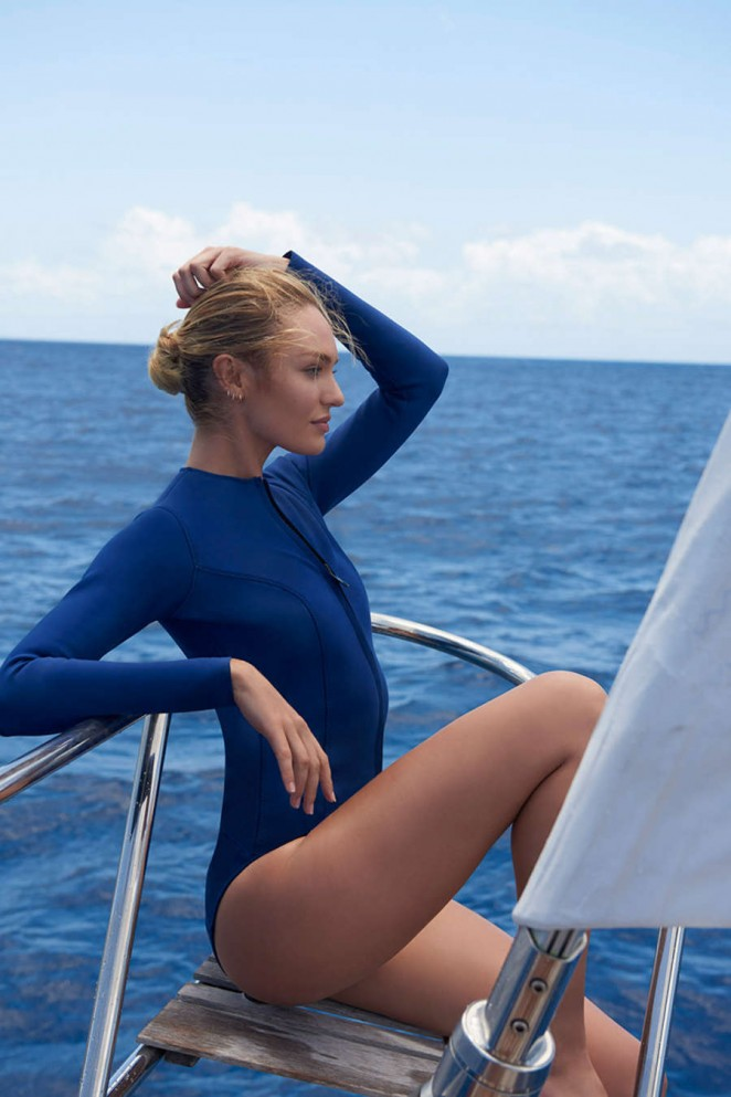 Candice Swanepoel by Gilles Bensimon for Biotherm