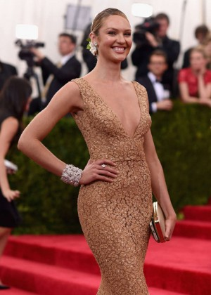 Candice Swanepoel - 2015 Costume Institute Gala in NYC