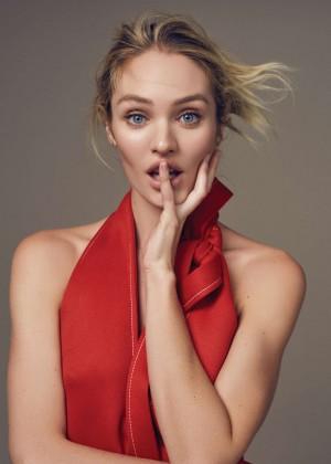 Candice Swanepoel: Elle China 2016 -01