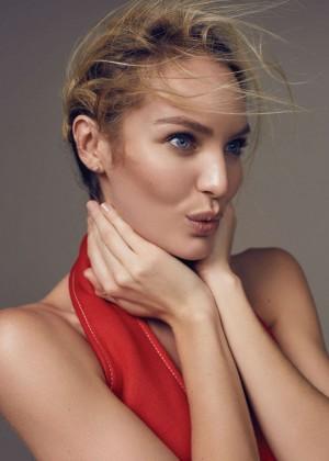 Candice Swanepoel: Elle China 2016 -12