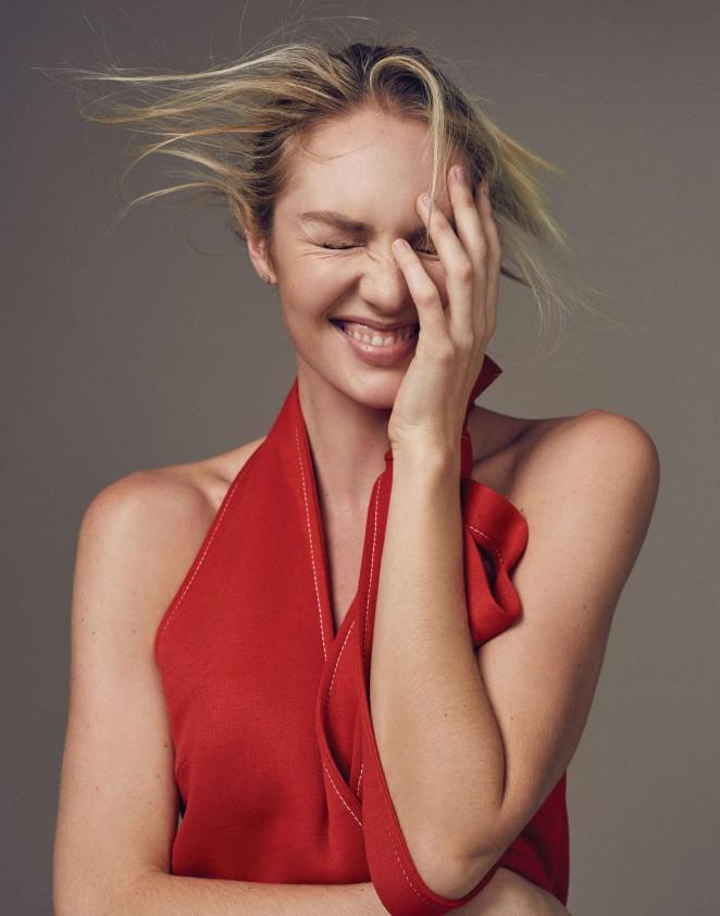 Candice Swanepoel: Elle China 2016 -14