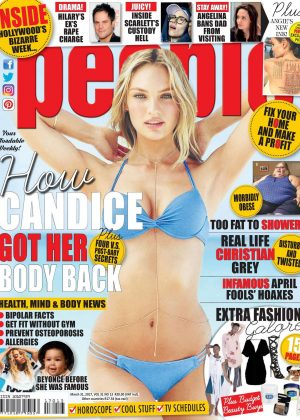 Candice Swanepoel for People South Africa (March 2017)