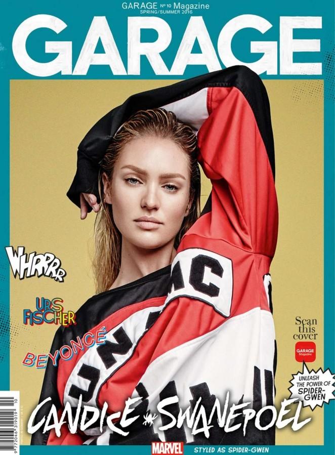 Candice Swanepoel – Garage Magazine Cover (Spring/Summer 2016)