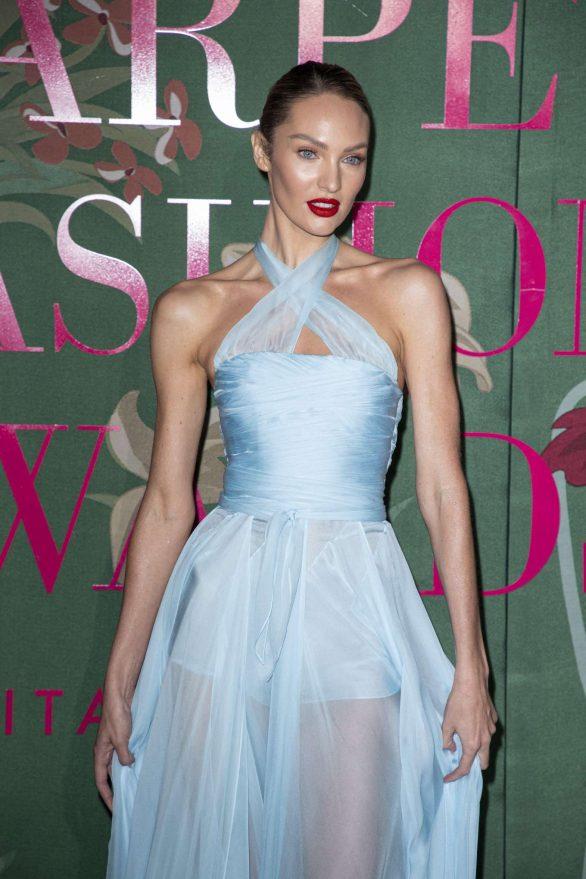 Candice Swanepoel - Green Carpet Fashion Awards 2019 in Milan