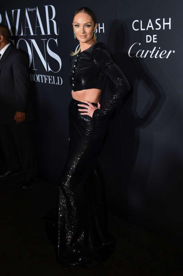 Candice Swanepoel - Harper's BAZAAR Celebrates 'ICONS By Carine Roitfeld' in NYC