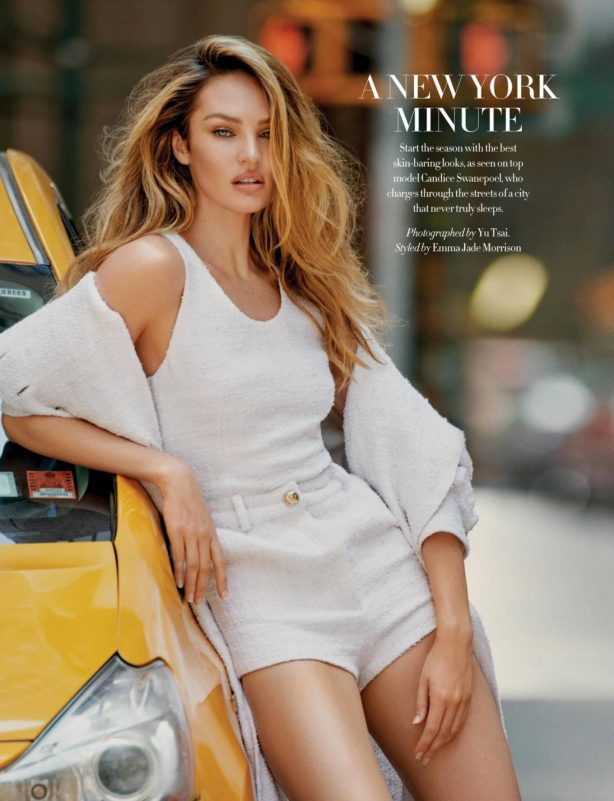 Candice Swanepoel - Harper's Bazaar Magazine (Singapore - 2020)