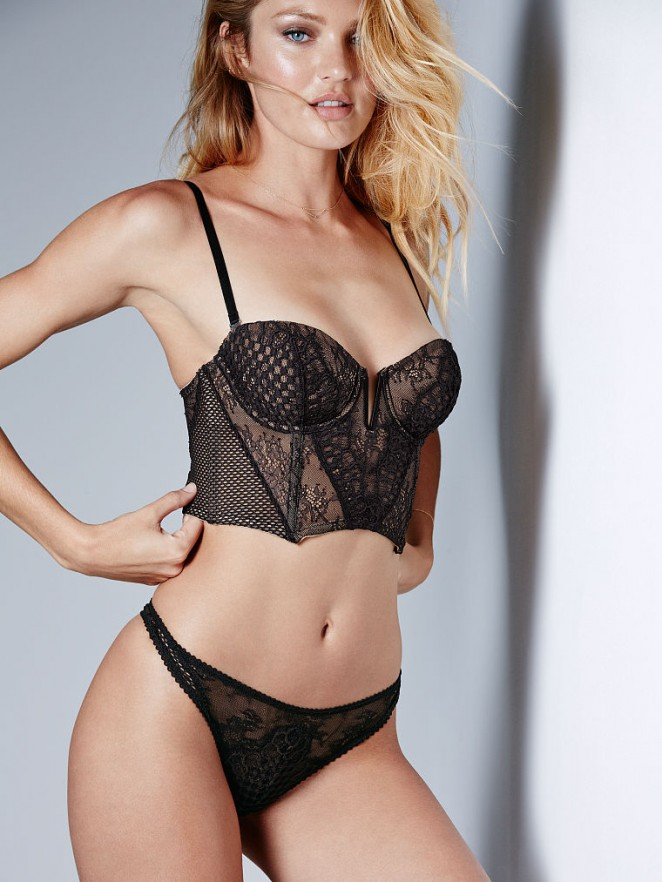 Victoria S Secret Designer Collection Velvet And Lace Bra And Thong