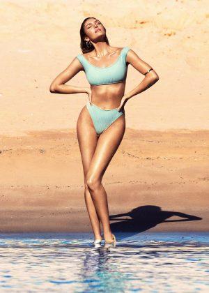 Candice Swanepoel in Bikini - Social Media Pics