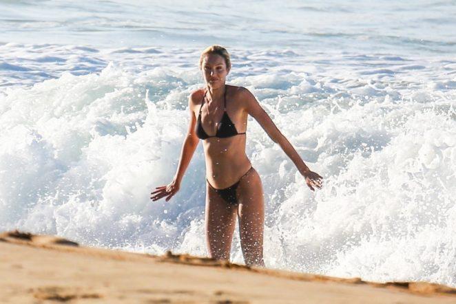 Candice Swanepoel 2017 : Candice Swanepoel in Black Bikini 2017 -02