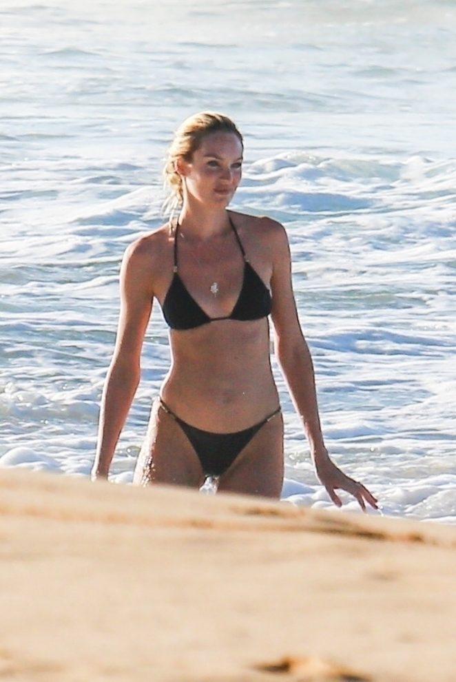 Candice Swanepoel 2017 : Candice Swanepoel in Black Bikini 2017 -12
