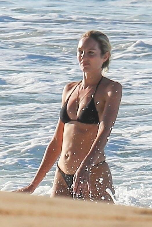 Candice Swanepoel 2017 : Candice Swanepoel in Black Bikini 2017 -34