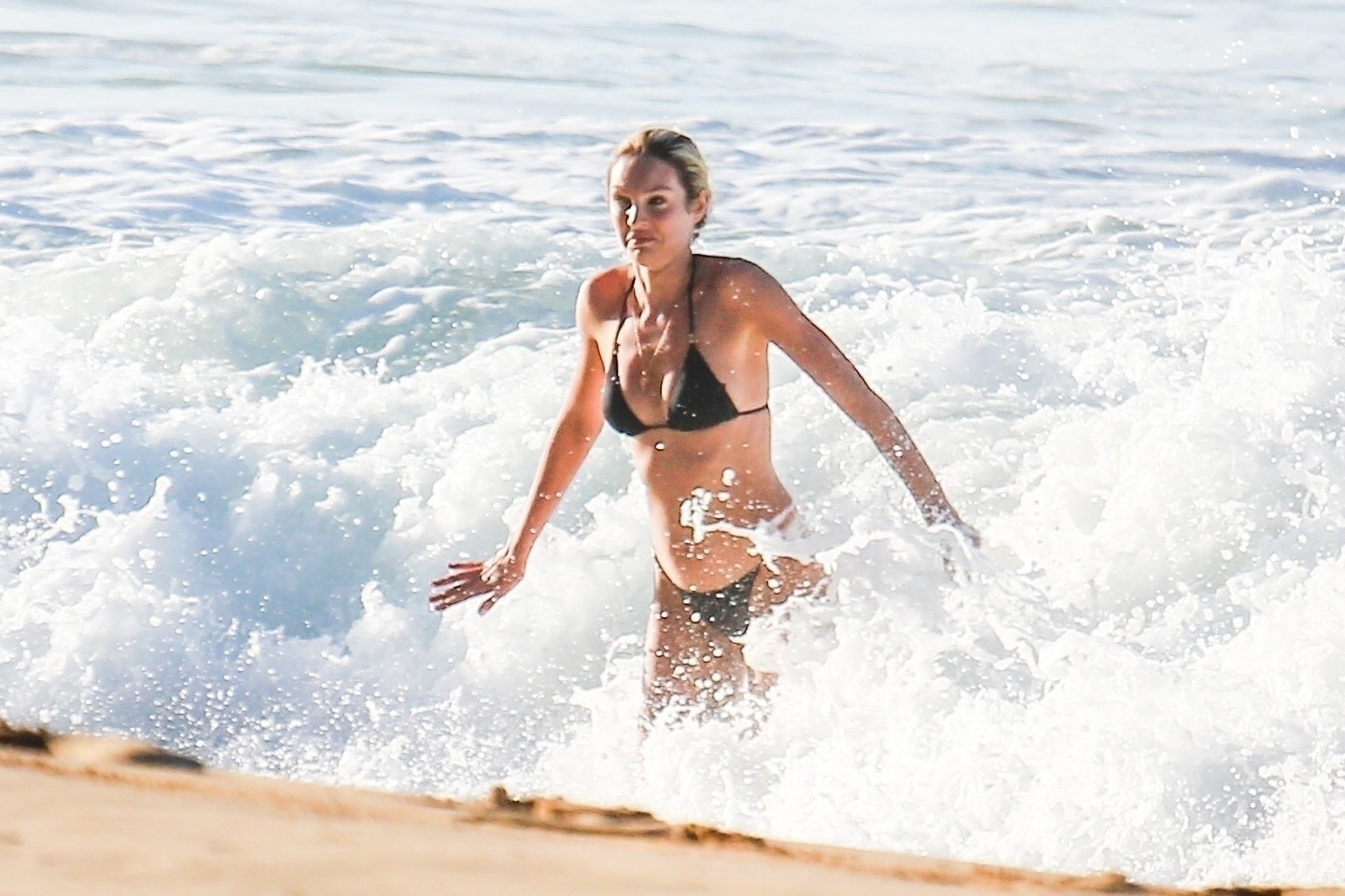 Candice Swanepoel 2017 : Candice Swanepoel in Black Bikini 2017 -41