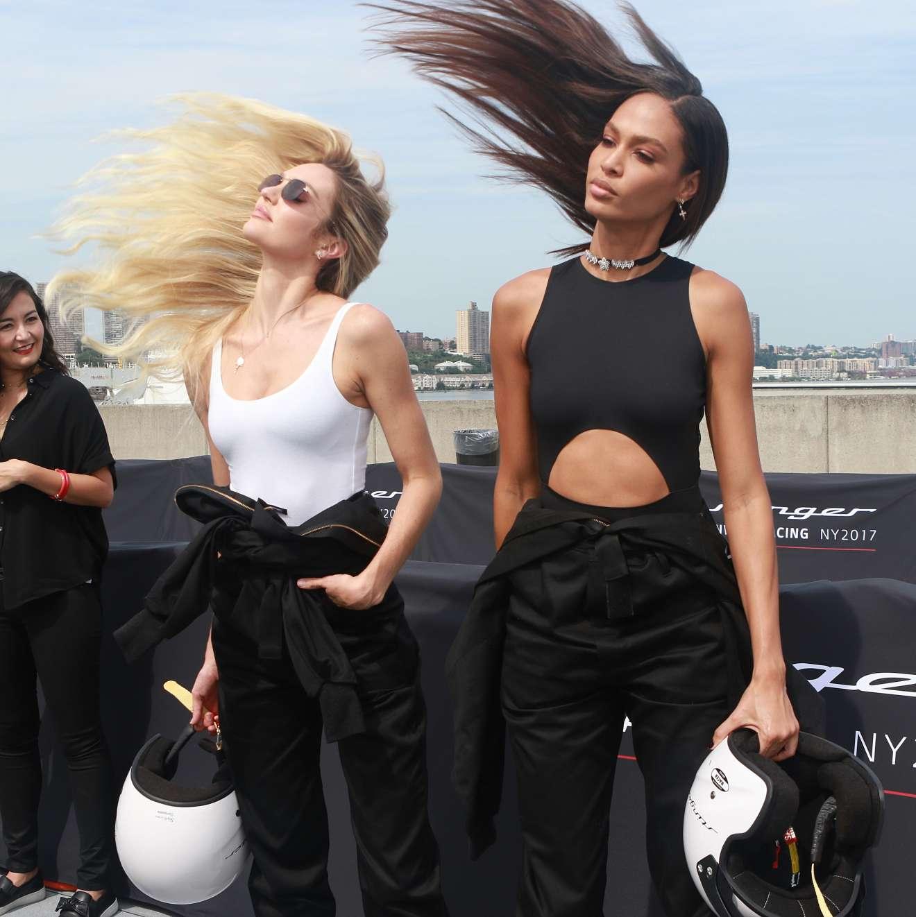 Candice Swanepoel - Kia Race the Runway Charity Event, New York Fashion Week 2017