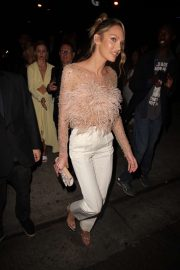 Candice Swanepoel - Leaves the Revolve Awards Afterparty in Hollywood