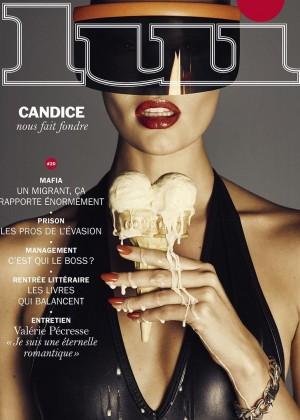 Candice Swanepoel: Lui Magazine 2015 -05