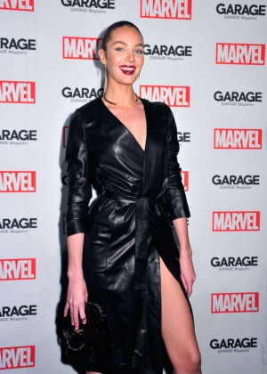 Candice Swanepoel - Marvel and Garage Magazine New York Fashion Week Event in NY