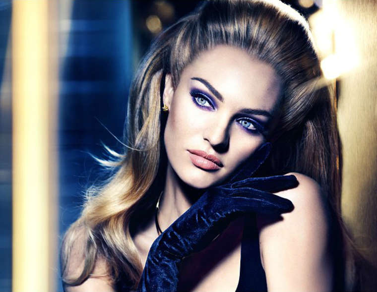Candice Swanepoel - Max Factor Velvet Collection