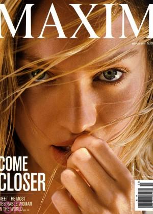 Candice Swanepoel – Maxim Magazine Cover (March 2015)