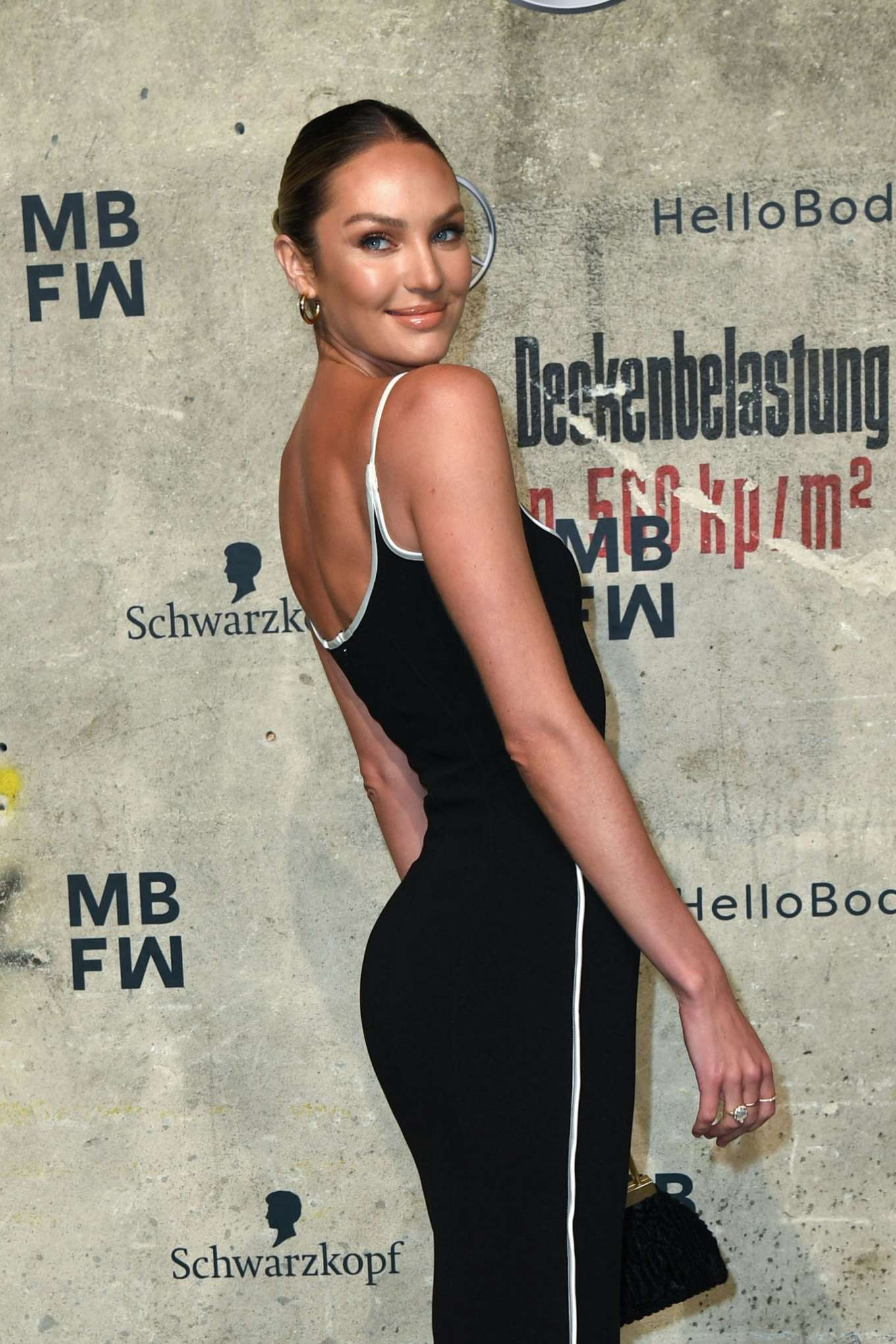 Candice Swanepoel - Mercedes-Benz presents Fashion Talents from South Africa show in Berlin