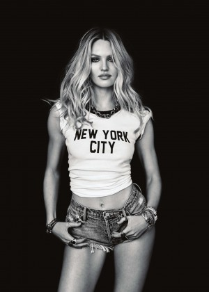 Candice Swanepoel - My Town Magazine (Septembre 2015) adds