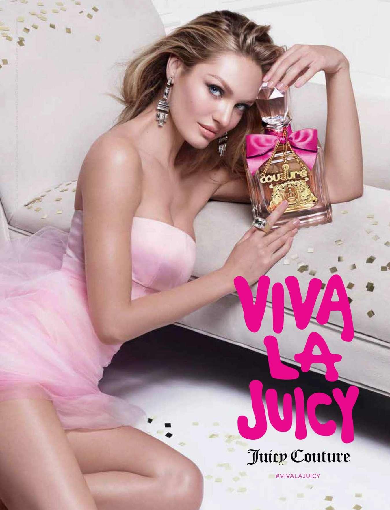 Candice Swanepoel - New Face of Viva La Juicy Fragrance