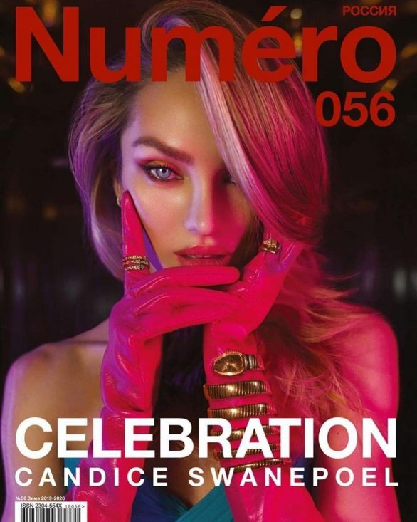 Candice Swanepoel - Numero Russia Magazine (December 2019)