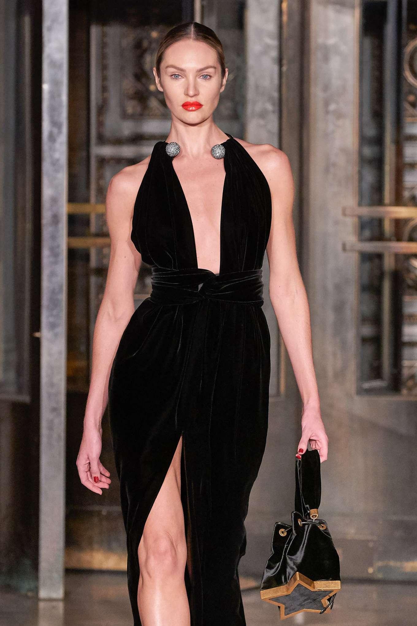 Candice Swanepoel - Oscar de la Renta at 2020 New York Fashion Week