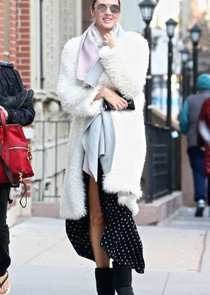 Candice Swanepoel out and about in New York