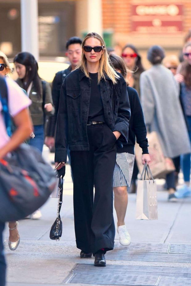 Candice Swanepoel: Out in NYC -05