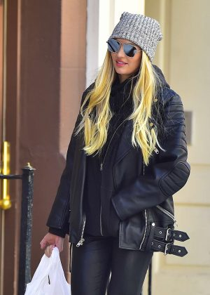 Candice Swanepoel out shopping in New York City