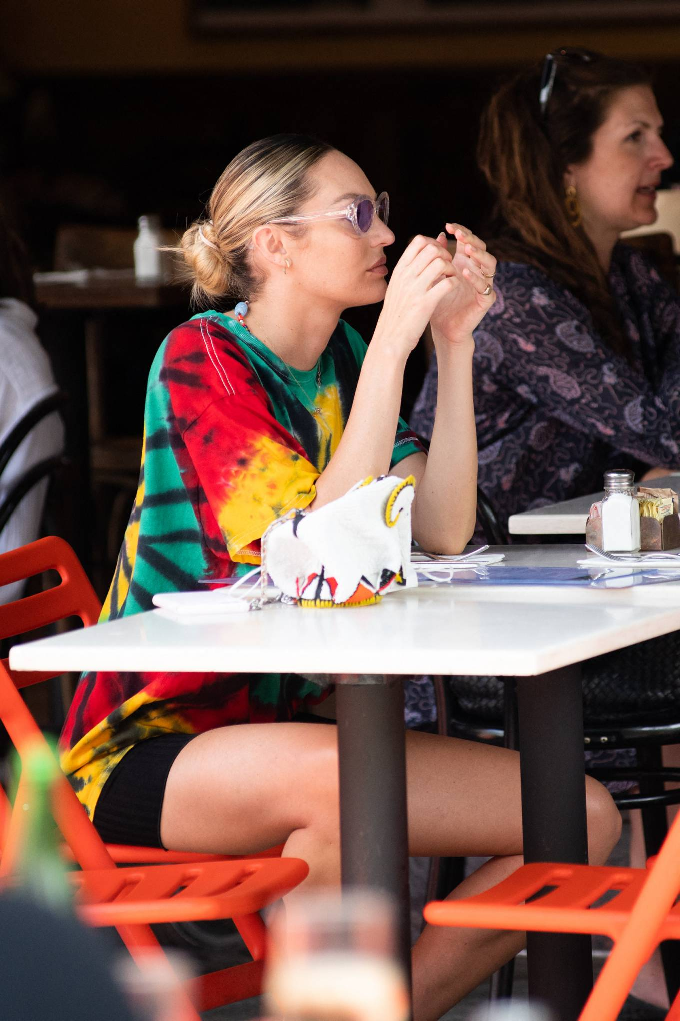 Candice Swanepoel - Out to lunch at Bar Pitti in NYC