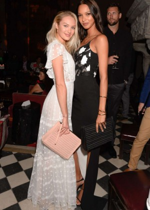 Candice Swanepoel - Overture After Party in New York