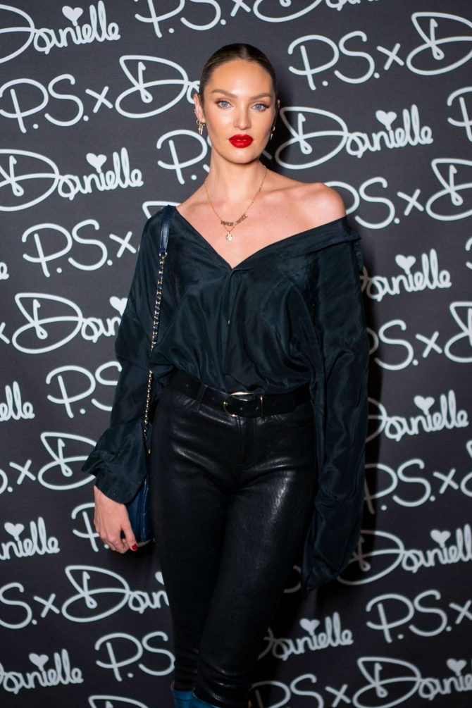 Candice Swanepoel – P.S. x Danielle Launch by Danielle Priano in NYC