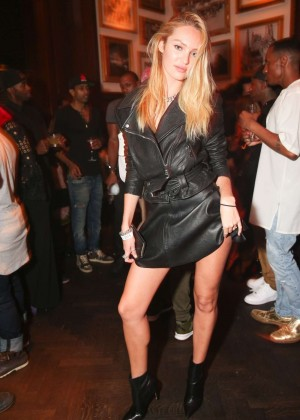 Candice Swanepoel - Rihanna Party in NYC