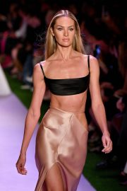 Candice Swanepoel - runway for Brandon Maxwell during NYFW