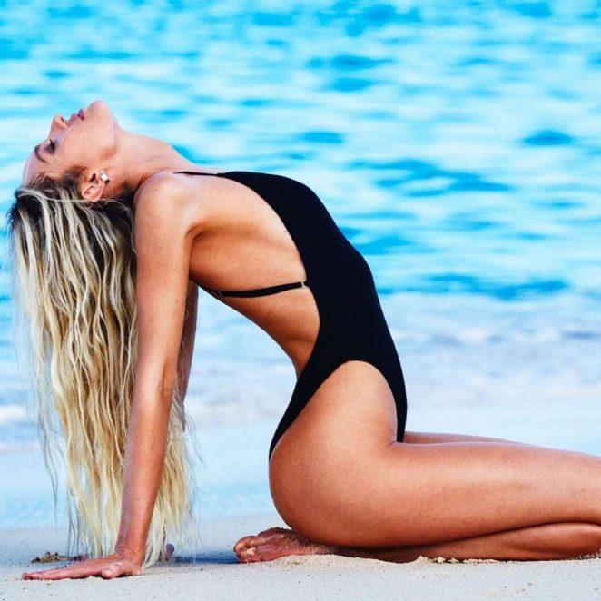 Candice Swanepoel – Tropic of C Swimwear Collection (January 2018)