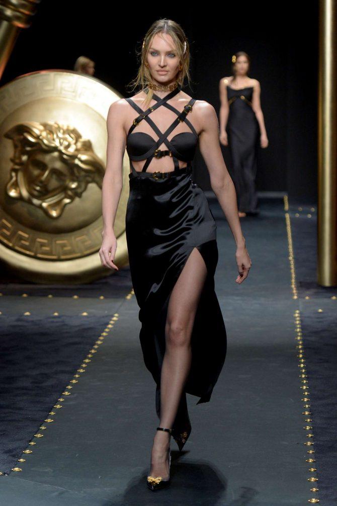 Candice Swanepoel – Versace Runway Show in Milan